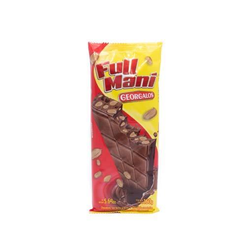 Foto CHOCOLATE TABLETA FULL MANI 160GR GEORGALOS PLAS de