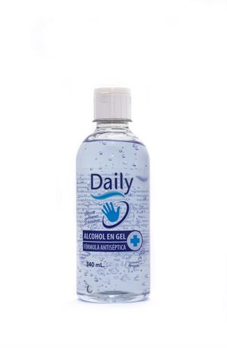 Foto ALCOHOL GEL DAILY ANTISÉPTICO 340ML de