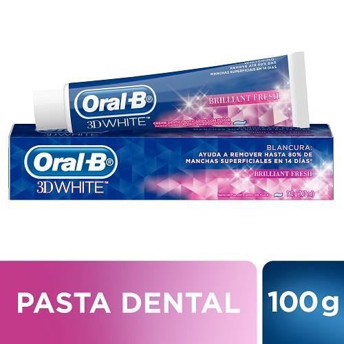 Foto PASTA DENTAL ORAL-B 3D WHITE 100GR de