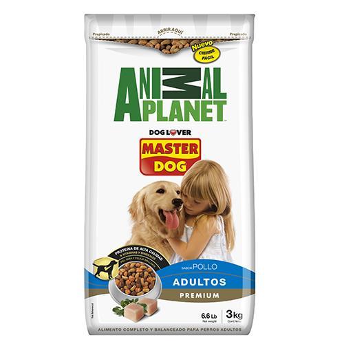 Foto ALIMENTO PARA PERRO MASTER DOG ANIMAL PLANET POLLO/ARROZ/VEGETAL 3KG de