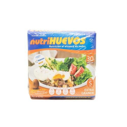HUEVO NUTRIHUEVOS 30 UNIDADES