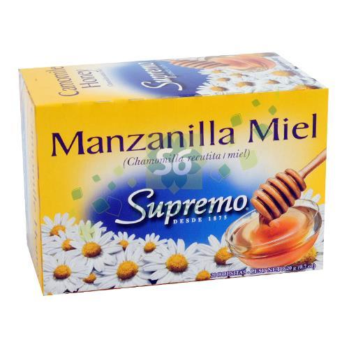 Foto TE SUPREMO MANZANILLA CON MIEL 20 GR de