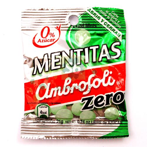 CARAMELO AMBROSOLI MENTITA LIGHT 21GR