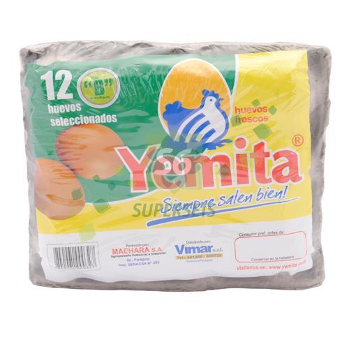 Foto HUEVOS YEMITA ENVASE ECONOMICO X 12 UNIDADES TIPO B YEMITA X 1 de