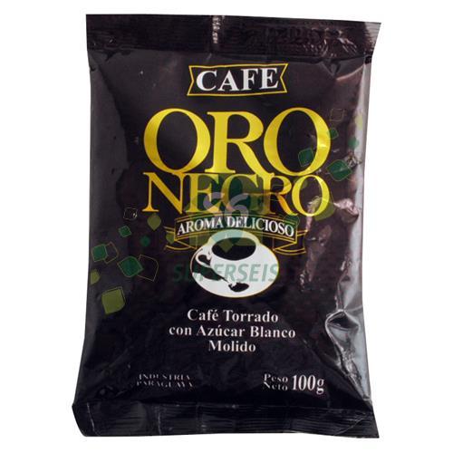 Foto CAFE ORO NEGRO PAQUETE 100 GR MOL de