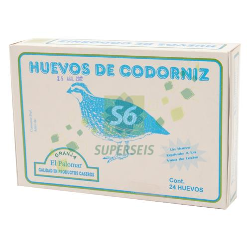 Foto HUEVO DE CODORNIZ X 24 UNIDADES  de