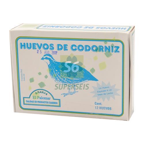 Foto HUEVOS DE CODORNIZ X 12 UNIDADES de