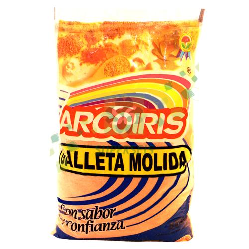 GALLETA MOLIDA ARCO IRIS PAQUETE 4