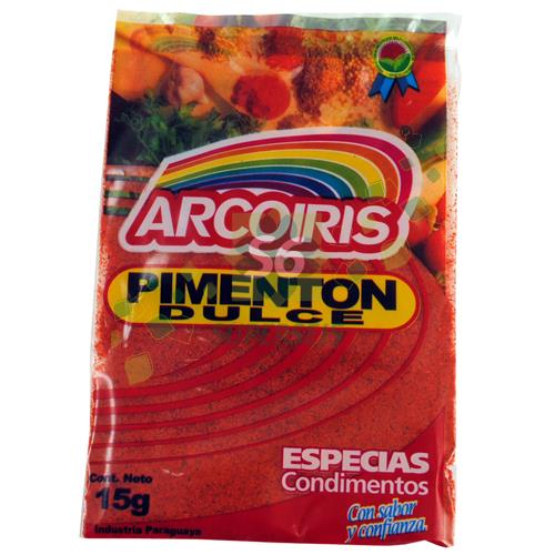 Foto PIMENTON ARCO IRIS PAQUETE 15 GR de