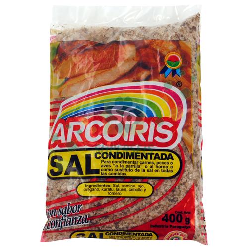 SAL CONDIMENTADA ARCOIRIS 400GR
