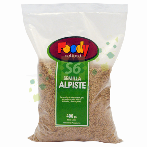 ALPISTE BOLSAS X400 GR