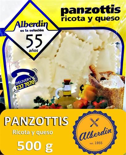 Foto PANZOTTIS DE RICOTA Y QUESO 500GR ALBERDIN PAQUETE  de