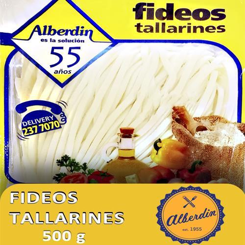 Foto FIDEOS FRESCOS TALLARINES 500 GR ALBERDIN PAQUETE  de