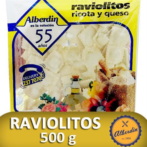 Foto RAVIOLES DE RICOTA Y QUESO 500GR ALBERDIN PAQUETE  de