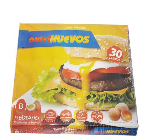 Foto HUEVO 30 UNIDADES NUTRIHUEVOS TIPO B de