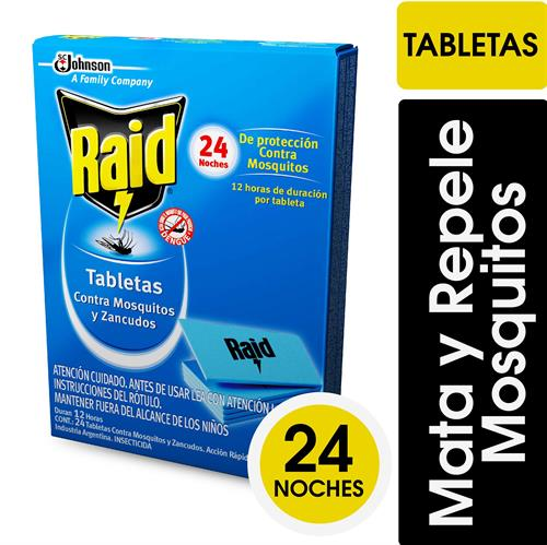 Foto TABLETA MMM RAID CAJA 24 UNIDADES LAR de