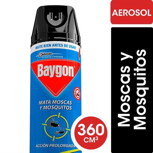 Foto INSECTICIDA AEROSOL 400 ML BAYGON AZUL de