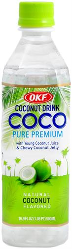 Foto JUGO ALOE VERA COCONUT DRINK 500 ML OKF BOT de