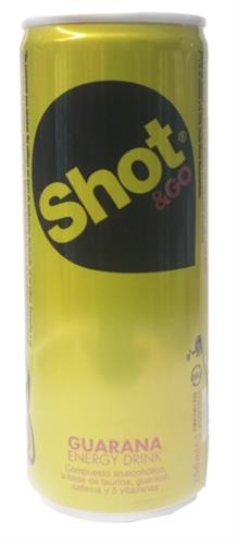 Foto BEBIDA ENERGIZANTE GUARANA 250 ML SHOT LAT de