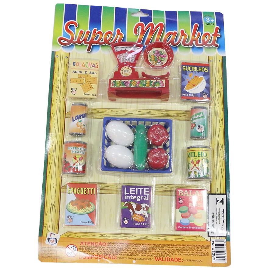 JUGUETE SUPER MARKET BLIS PICA PAU REF 593