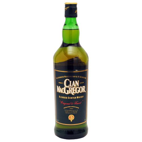 WHISKY CLAN MAC GREGOR BOTELLA 1 L