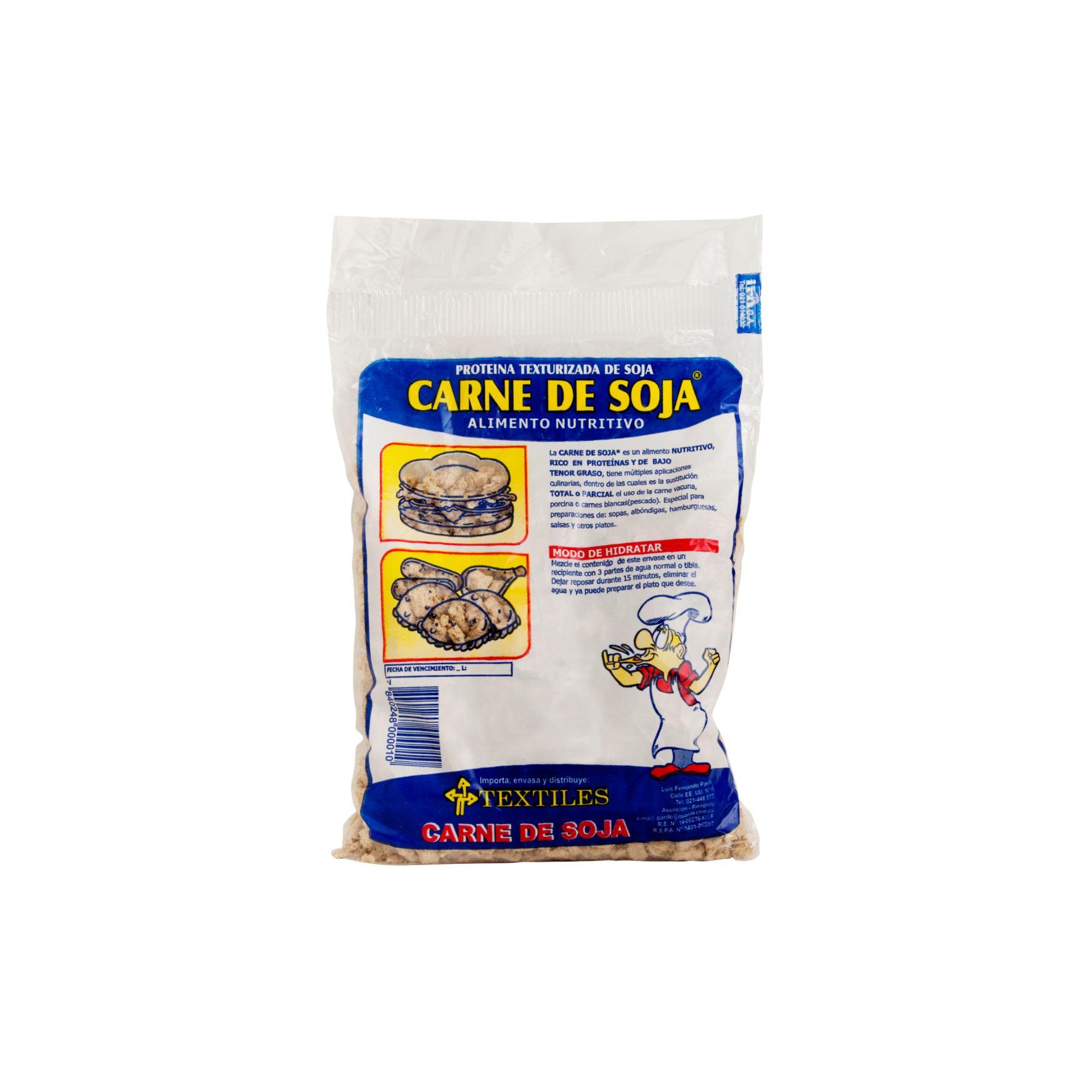 CARNE DE SOJA TLES PAQUETE 200 GR