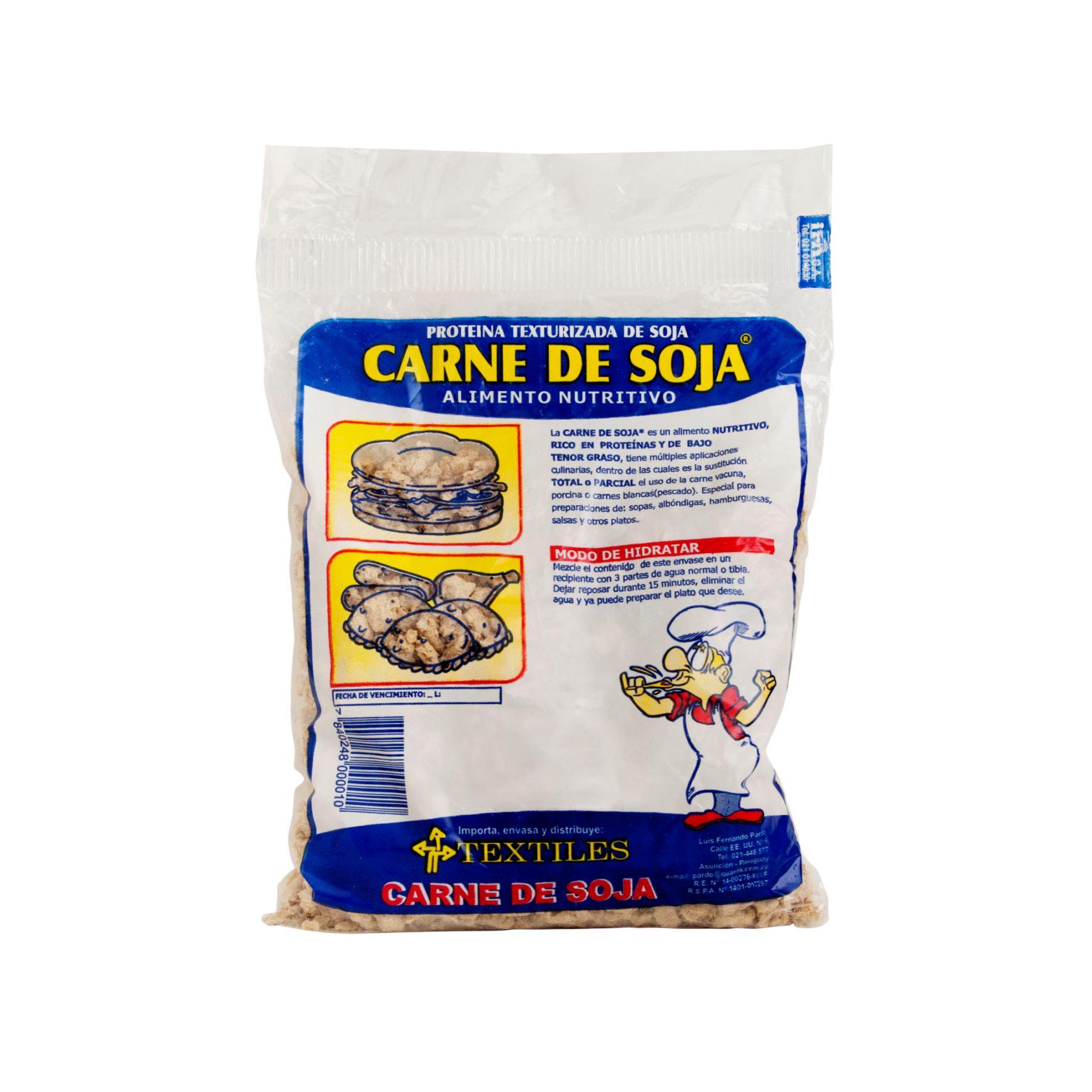 CARNE DE SOJA TLES PAQUETE 500 GR