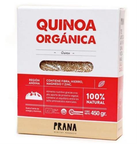Foto QUINOA ORGANICA 450GR PRANA CAJA.  de