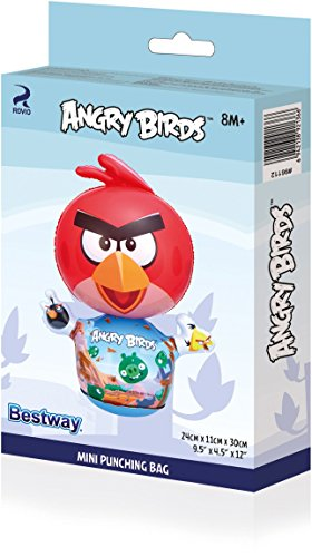 ANIMAL INFLABLE MINI P/BOXEO ANGRY BIRDS 24X11X30 CM BESTWAY