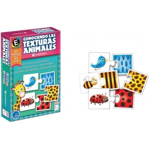 Foto JUEGO SMART GAMES TEXTURA ANIMALES RONDA REF 65212 CJA  de