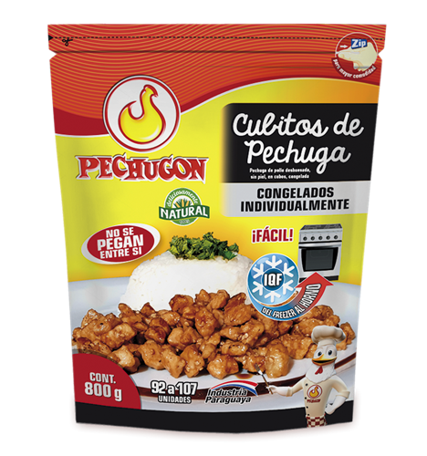 Foto CUBITOS DE PECHUGA PECHUGON IQF 5829 de
