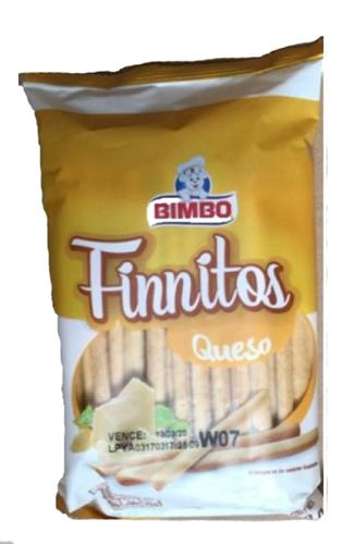 Foto GRISINES CON QUESO FINNITOS BIMBO 100GR BSA de