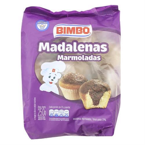 Foto MADALENAS BIMBO MARMOLADAS 250 GR de