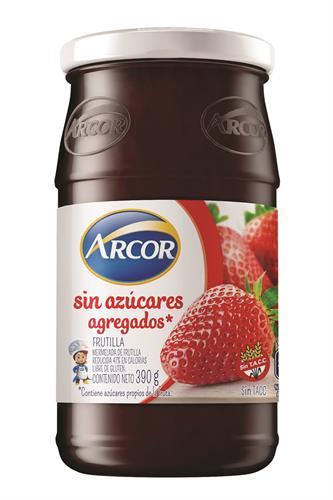 Foto MERMELADA DE FRUTILLA ARCOR S/AZUCAR 390GR FCO de