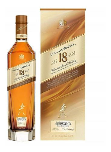 Foto WHISKY ESCOCES 18 AÑOS JOHNNIE WALKER 750ML CJA de