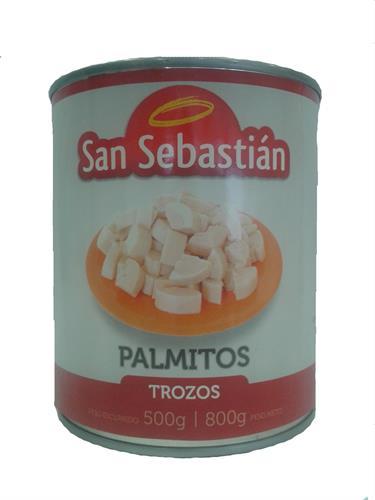 Foto PALMITOS EN TROZOS 800GR SAN SEBASTIAN LATA de
