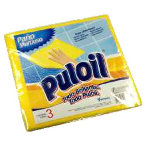 Foto PAÑO PULOIL X 3 +ESPONJA MULTI de