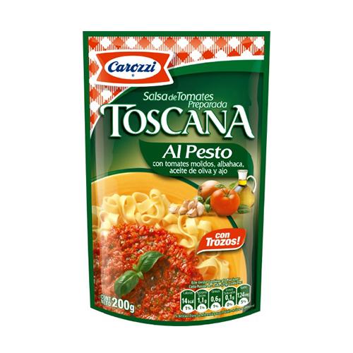 SALSA TOSCANA AL PESTO CAROZZI BSA X200GR