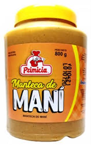 Foto MANTECA D/MANI PRIMICIA 800GR POT de