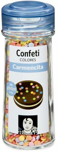Foto CONFITES CIRCULO D/COLORES 55GR CARMENCITA FCO de