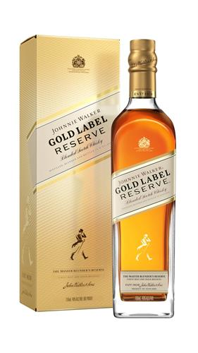Foto WHISKY GOLD LABEL RESERVE 750ML JOHNNIE WALKER BOTELLA CON CAJA de