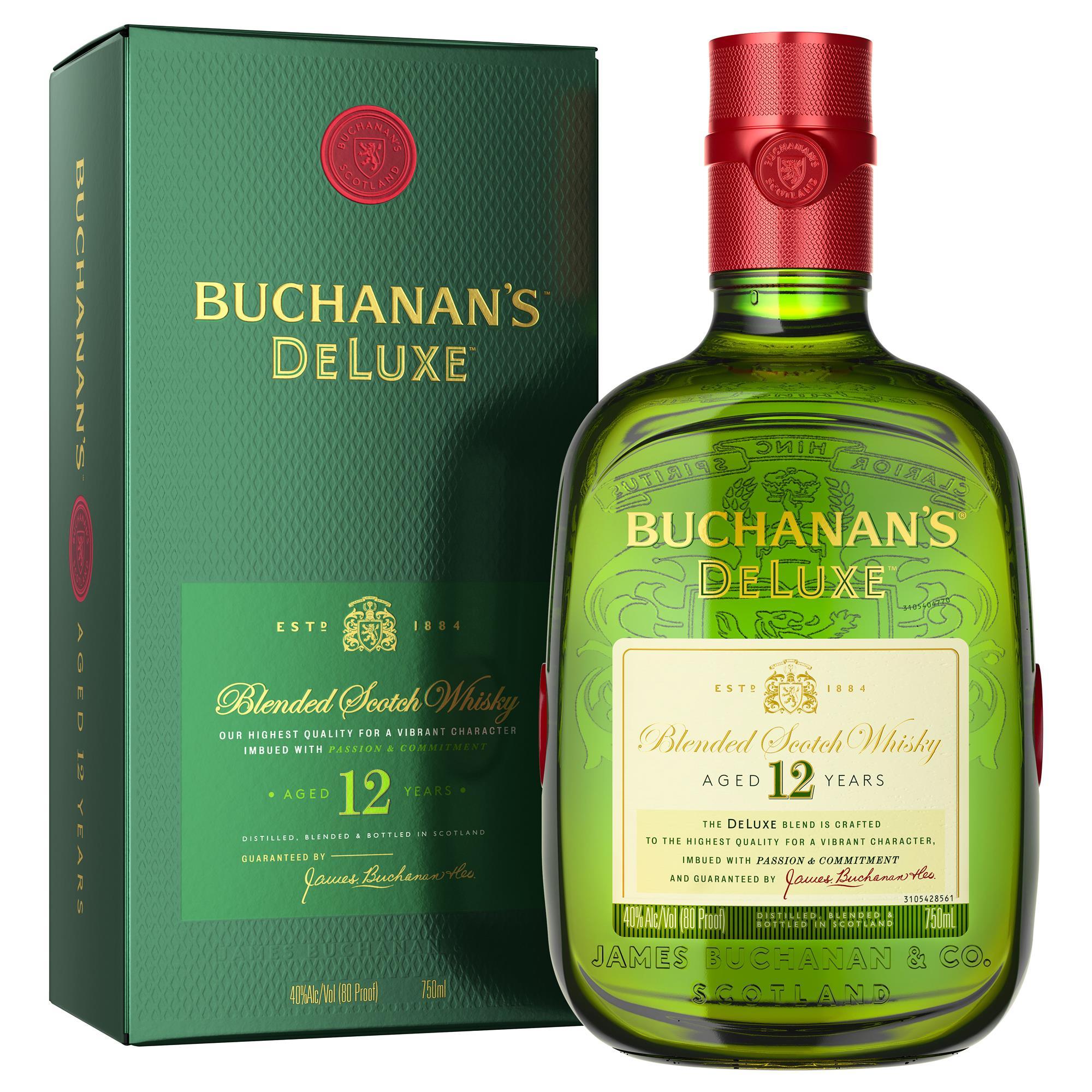 BUCHANAN`S 12 AÑOS BOTELLA 1000 ML