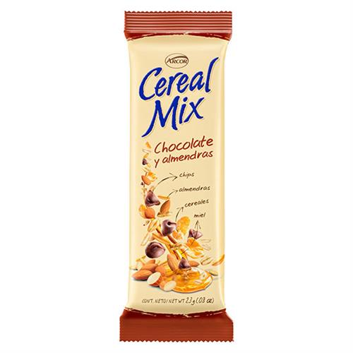 Foto CEREAL MIX ARCOR PAQUETE 23 GR CHO de