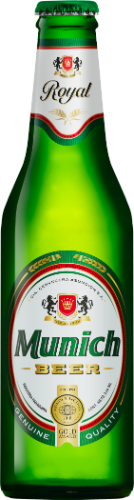 Foto CERVEZA ROYAL 330ML MUNICH BOTELLA NO RETORNABLE de