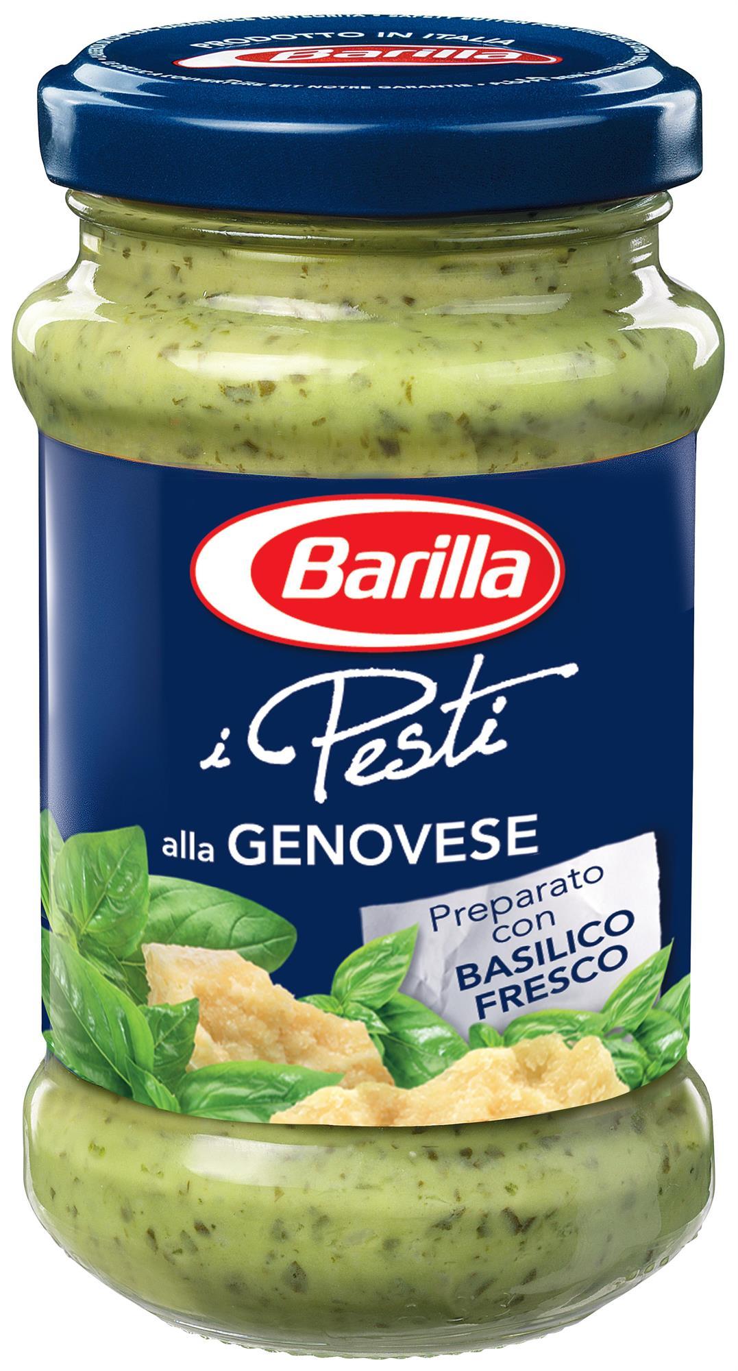 SALSA AL PESTO GENOVESE 190 GR X 12