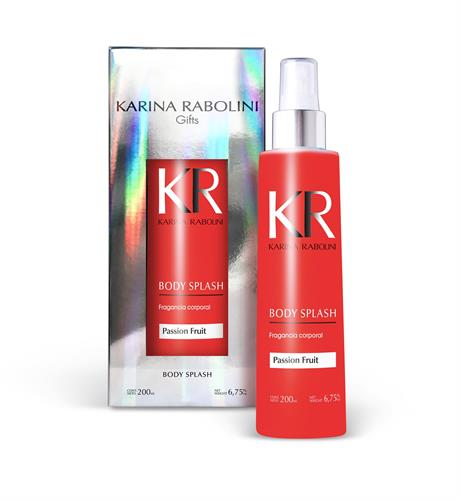 Foto BODY SPLASH KARINA RABOLINI PASSION FRUIT FRASCO 200ML de