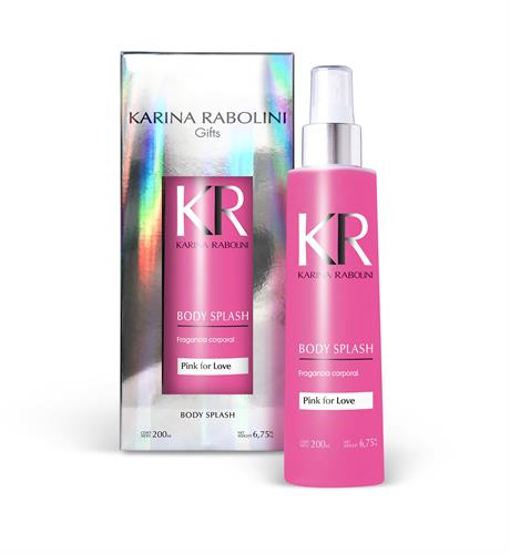 Foto BODY SPLASH KARINA RABOLINI PINK FOR LOVE de