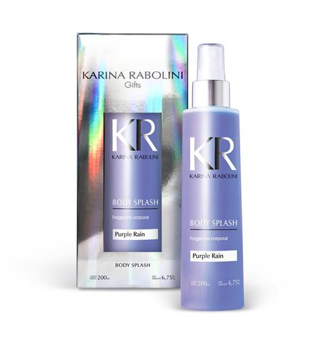 Foto BODY SPLASH KARINA RABOLINI PURPLE RAIN FRASCO 200ML de