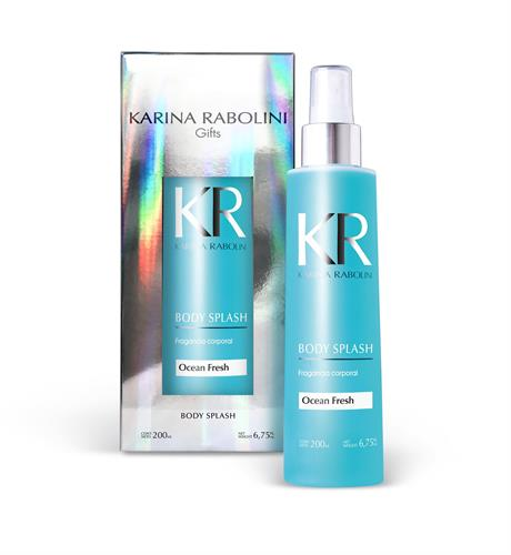 Foto BODY SPLASH KARINA RABOLINI OCEAN FRESH FRASCO 200ML de