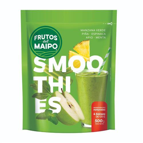 Foto SMOOTHIES VERDE FRUTOS DEL MAIPO 500GR PAQ de